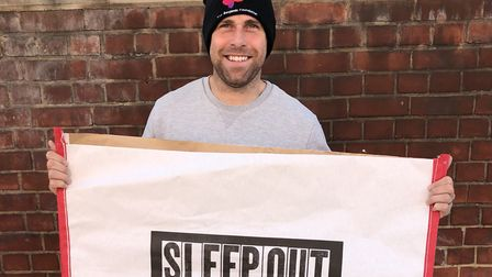 Norwich City legend Grant Holt is to brave the elements next month to support Norfolk's homeless - a