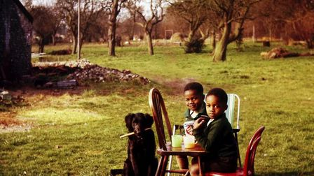A still from the film Forbidden Games: The Justin Fashanu Story. Image: supplied by DawBell