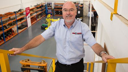 Gee-Force Hydraulics� managing director Graeme Cook. Picture: TMS Media