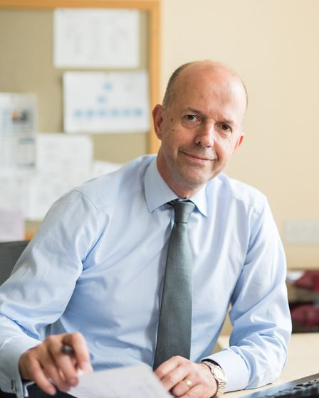 Former chief executive of Norfolk and Suffolk NHS Foundation Trust (NSFT) Michael Scott. Photo: NSFT
