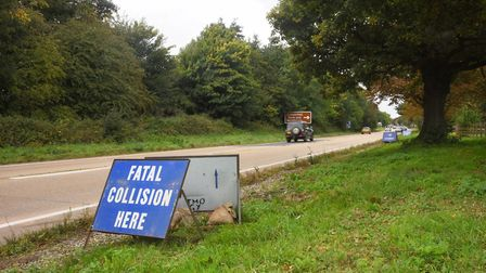 Police are appealing for witnesses to a fatal crash that happened on September 30 on the A47 at Scar
