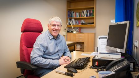 Dr Paul Williams, the new chair of West Norfolk CCG's governing body. Picture: Paul Tibbs