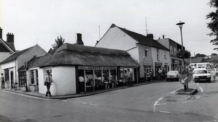 View of Mundesley high street in 1984. Picture: Archant library