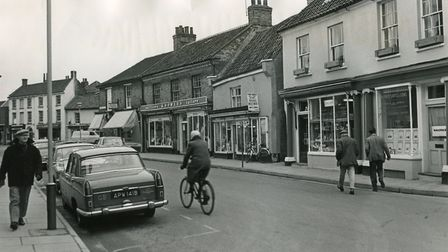Holt high street. May 1968. Picture: Archant Archive