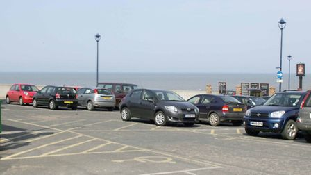 ©Albanpix.com-Picture by Alban Donohoe The Chequers Shorts stay car park Sheringham, Norfolk Dr Ge