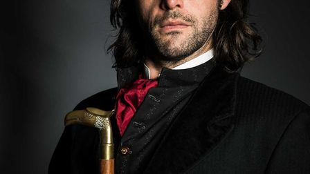 Jack Bannell in The Strange Case of Dr Jekyll and Mr Hyde by Blackeyed Theatre