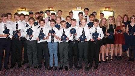 Norfolk Youth Cricket's County Cup winners. Picture: Lewis Denmark