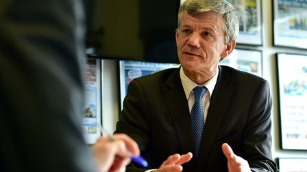 Regional schools commissioner Tim Coulson. Picture: ANTONY KELLY