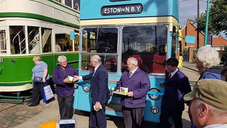The East Anglia Transport Museum hosted a successful Trolleybus weekend, with a range of visiting an