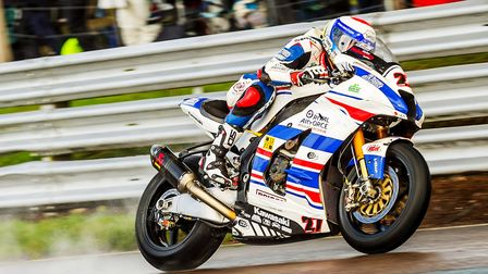 RAF Regular & Reserves Superbike rider Jake Dixon heads for Assen this weekend. Picture: Barry Clay