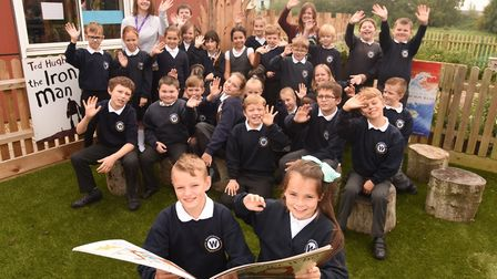 Aspirations Day at Whitefriars CofE Primary Academy. Picture: Ian Burt