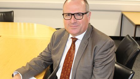 Matt Dunkley, the interim director of Norfolk County Council's children's services department. Pic: