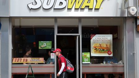 The Subway chain is one of the world's most ubiquitous franchises. Picture: Katie Collins/PA Wire