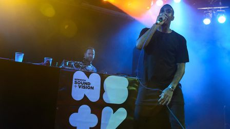 Chase & Status live at Epic Studios for Norwich Sound + Vision. Photo: Paul Bayfield