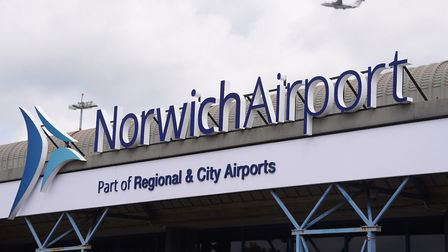 Norwich Airport where bmi regional flights depart from. Picture: DENISE BRADLEY