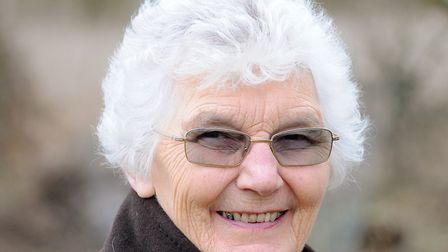 Diana Beckley, who has died in Serbia. Picture: JAMES BASS