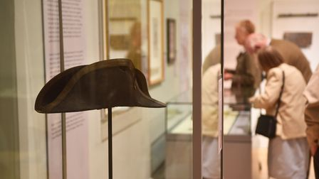 Norwich Castle Museum. The Nelson Exhibition. Picture : ANTONY KELLY