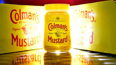 Colman's Mustard made by Unilever. Picture: ANTONY KELLY