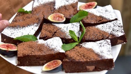 Eat Suffolk: Urban Jungle Plant Nursery and Cafe, Beccles. Chocolate Brownie. Picture: Nick Butche