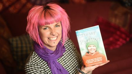 Callie Blackwell has released a book detailing the journey of her son Deryn's battle with cancer and