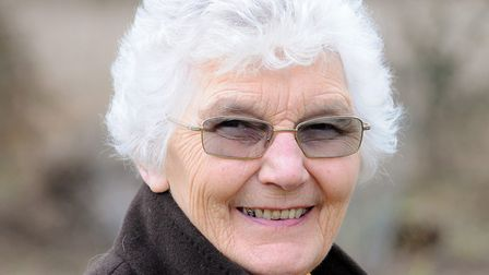 Diana Beckley, who died in Serbia on September 22. Picture: JAMES BASS