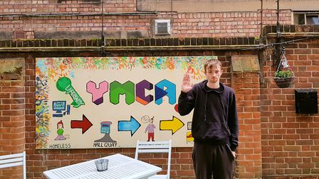 Daniel Mariner, at the YMCA in Great Yarmouth. Photo: YMCA