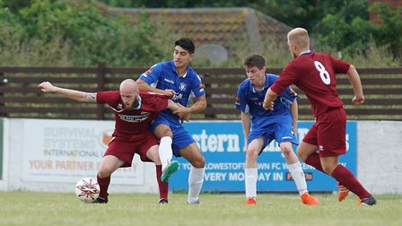 Kyle Baker returned from injury to net Kirkley and Pakefield's winner against Thetford Town on Tuesd
