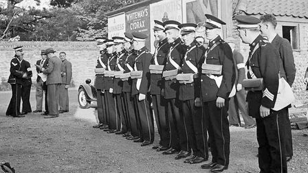 April's photograph shows the St John Ambulance & ARP in North Walsham in the late 1930s. Photographe