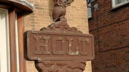 Holt town sign. Photo: Colin finch