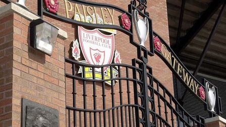 Gates at Anfield - Home of Liverpool Football Club. CREDIT: The Mersey Partnership