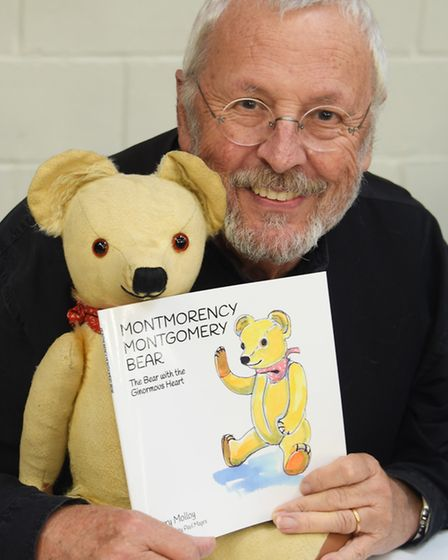 Terry Molloy, who played Davros in Dr Who, and has now written a children's book, at Nor-Con, the TV