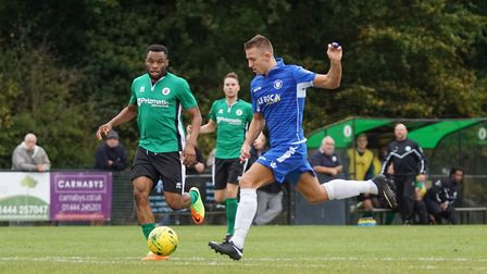 Two-goal striker Jake Reed. Picture: Shirley D Whitlow