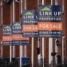 Houses for sale. new homes/selling/sale boards/estate agents. Picture: DENISE BRADLEY