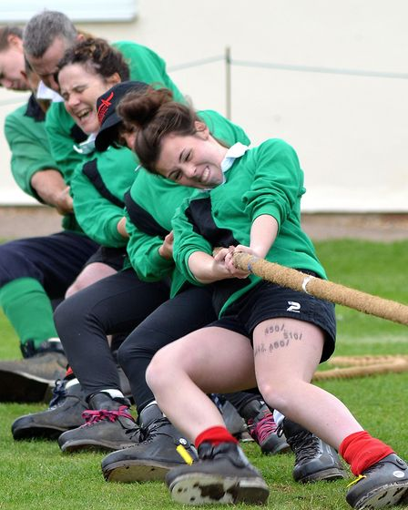 Tug-of-war is said to be one of the ultimate tests of strength and resilience. Picture: Mick Howes