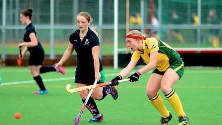 Action from Norwich City IV's 6-0 win over UEA II at the weekend. Picture: Simon Tasker