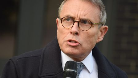 Police and Crime Commissioner Lorne Green. Picture: DENISE BRADLEY
