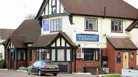 Mariners Compass pub on Middleton Road in Gorleston. Picture: James Bass