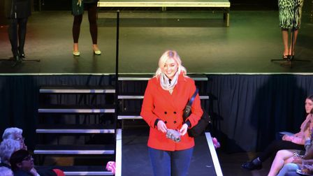 The fashion show organised by the Beccles Friends of Cancer Research UK and M&Co in Beccles. Picture