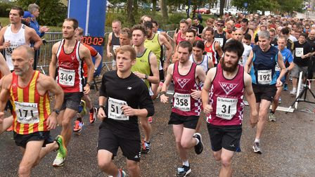 Runners will be ready to hit the streets of Great Yarmouth this weekend in the 2017 East Coast Run.