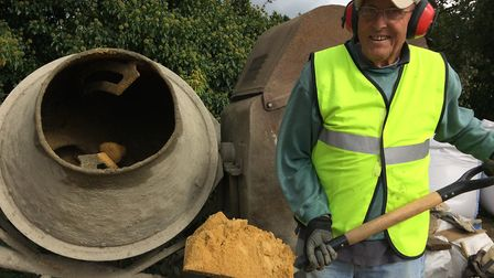 Dennis Williams is still working at the age of 85. Picture: Alex Hurrell