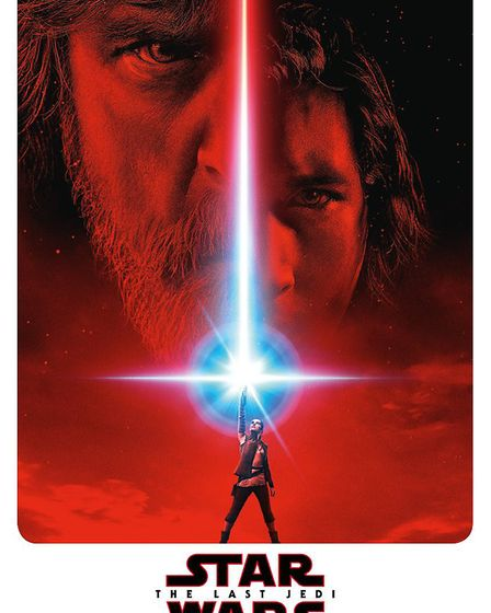 A poster for the new Star Wars film The Last Jedi. Picture: Lucasfilms/Disney