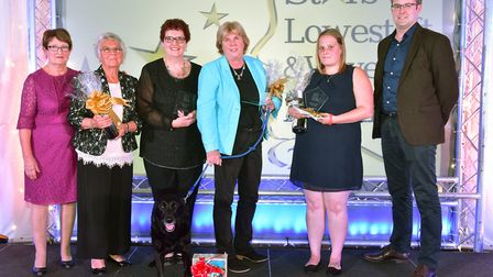 Stars of Lowestoft and Waveney 2017 awards evening at the Ivy House.Charity worker of the year.Pic