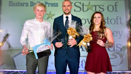 Stars of Lowestoft and Waveney 2017 awards evening at the Ivy House.Outstanding sporting achievemen