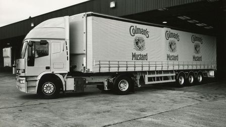 Ready for distribution at the Colman's factory, 1994. Picture: Archant library