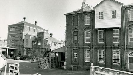 Colman's Paper Mill site Norwich, dated July 22nd, 1992. Picture: Archant library