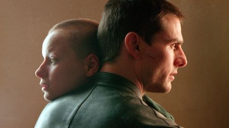 Steven Spielberg's Minority Report starring Tom Cruise and Samantha Morton. Photo: DreamWorks Pictur