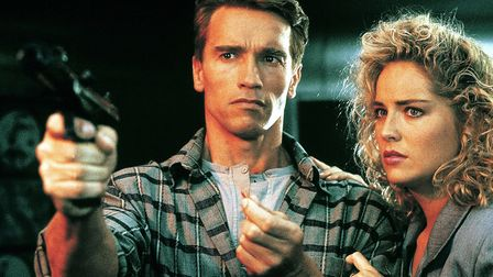 Total Recall, starring Arnold Schwarzenegger and Sharon Stone, based on Philip K Dick's story We Can