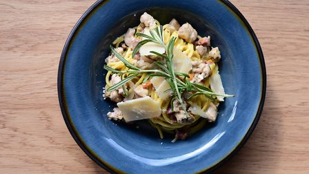 Partridge pasta by Charlotte Smith- Jarvis. Picture: SARAH LUCY BROWN
