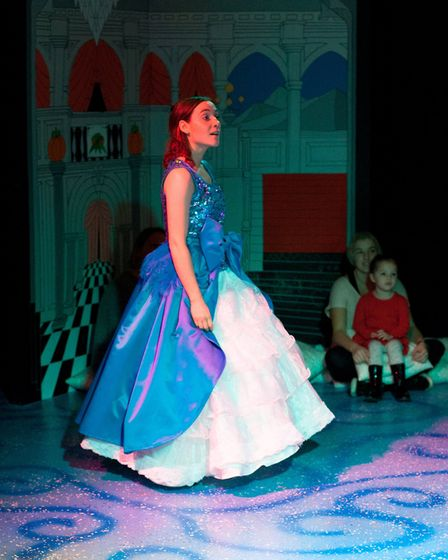 My First Panto: Cinderella at The Garage in 2016. Photo: supplied by The Garage