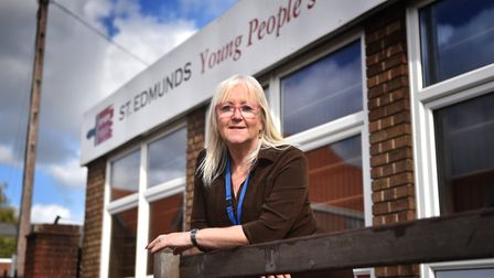 St Edmund's Society, Norwich. CEO Lorraine Bliss.Picture: ANTONY KELLY